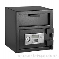 AdirOffice 1.8 Cubic Feet Depository Safe with Two Keys plus Keypad for Enhanced Protection - B07B8YTH9N