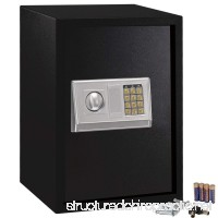 GHP Home Office Hotel Gun Large Digital Electronic Safe Box w Keypad Lock Security - B0127QA40A