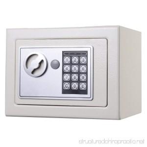 USEFUL NEW Small White Digital Electronic Safe Box Keypad Lock Home Office Hotel Gun - B01MTCNVXZ