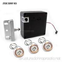 125khz RFID Keyless RFID Hidden Cabinet Lock Private Card Lock Castle Black Electronic Invisible Digital Cabinet Door Lock - B07CWMZDZG