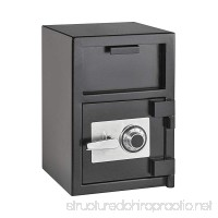 AdirOffice Hopper Loading Combination Lock Safe for Home and Offices (2 Cubic Feet  Black) - B07B8YBX77