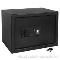 Ivation Biometric Safe Home Digital Security Lock Box with Fingerprint Scanner Backup Keys - B073WLY4FT
