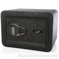 Ivation Electronic Home and Office Safe with Keypad for Pin Code Access – Includes Emergency Override Keys - B01B86H732