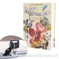 Kingsida Real Paper Book Locking Booksafe with Key Lock Dictionary Secret Hidden Safe (Alice In Wonderland) - B074L4Q3PN