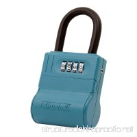 ShurLok II SL-600W 4 Dial Numbered Key Storage Combination Lock Box With Blue Finish - 12 Pack - B0118B6NVY