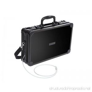 Vaultz Locking Handgun Case 10 x 3.5 x 14.5 Inches Black (VZ00408) - B00P45GBYK