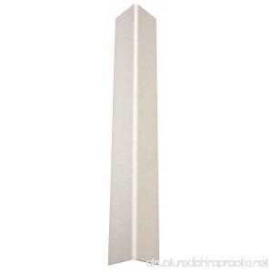 Corner Guard Taped 1-1/2x48 in White - B07CTH19ZJ