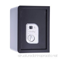 Digital Electronic Biometric Security Hotel Jewelry Case Fingerprint Safe Box - B07D68KRMF