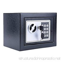Digital Safe Deposit Box Pagacat Home Security Box Includes Keys for Money Gun Jewelry Cash[US Stock] - B077NYG546