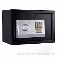 FixtureDisplays 13.8 x 9.8 x 9.8 Safe Security Box Digital Safe Box Black Security Box with Digital Lock 18133-NPF - B07FL9MBHN
