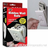 Hidden Wall Safe Security Electrical Outlet Keys Vault Secret Hide Valuables  New  - B01HDJFYTM