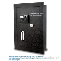 Viking Security Safe VS-52BLX Biometric Fingerprint Hidden Wall Safe - B015QU2JGG
