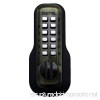 Digital Door Lock M210 Mechanical Keyless Deadbolt Antique Brass - B000O68MWI
