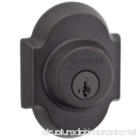 Kwikset Austin Single Cylinder Deadbolt featuring SmartKey in Venetian Bronze - B008YB6AH4