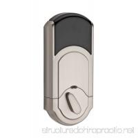 Kwikset Kevo (1st Gen) Touch-to-Open Bluetooth Smart Lock Works with Amazon Alexa via Kevo Plus in Satin Nickel - B00CPTD5AQ