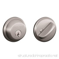 Schlage B60N626 Deadbolt  Keyed 1 Side  Satin Chrome - B0030ZUC3M