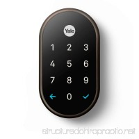 Yale Nest x Lock Oil Rubbed Bronze with Nest Connect - B07BH6Y6LL