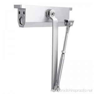 Modrine XXL Large Automatic Door Closer for Commercial and Residential Use Grade 1 Aluminum Alloy Door Close for Larger Door Weight 176-242lbs - B076X37DPS