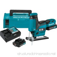 Makita VJ05R1J 2.0Ah 12V max CXT Lithium-Ion Brushless Cordless Barrel Grip Jig Saw Kit - B076CJJZTS