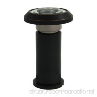 ABH Solid Brass 200 Degree Peephole Door Viewer Acrylic Lenses Oil Rubbed Bronze - B077CT7TGV