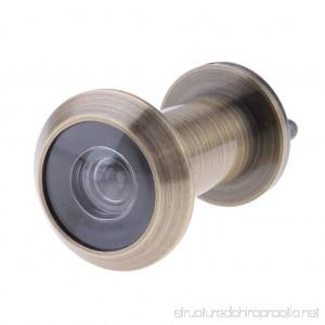 Baosity 200-Degree Door Peephole Anti-theft with Cover for 16mm Metal Bronze - B07FTKS11S