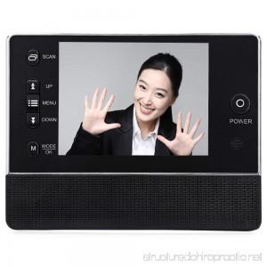 X-Treat 3.5 inch Digital Doorbell Peephole Viewer with Camera Digital VDO Recorder Night Vision - B07FLN76LV