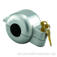 Defender Security Door Knob Lock-Out Device Diecast Construction Gray Painted Color Keyed Alike - B00CGYNFF0