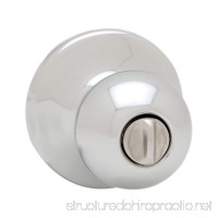 Kwikset Polo Bed/Bath Knob in Polished Chrome - B001AS2YDC