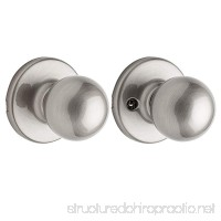 Kwikset Polo Hall/Closet Knob in Satin Nickel - B000UH925W