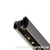 M-D Building Products 01560 WS059 Aluminum Locking Slide Bolt Combination Astragal - B006P1MHW2