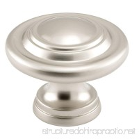 Prime-Line N 7372 Bi-Fold Door Knob  1-11/16 in. Outside Diameter  Diecast  Satin Nickel Plated - B00E3NF8FW
