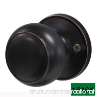 Probrico Single Door Knobs and Handles Oil Rubbed Bronze (Dummy DL609) - B01HYVQLKA