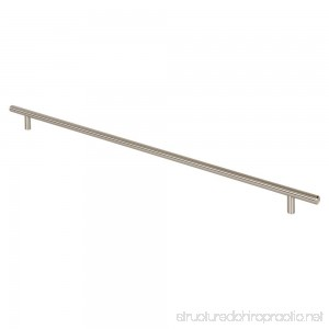 Prime-Line Products KD 17509 Bar Pull 22-Inch OL x 19-Inch CC x 12mm Dia Satin Nickel - B00PX06GKU