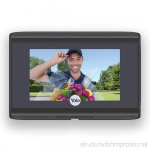 Yale Look Door Viewer - WiFi Door Viewer Video Doorbell - See Who's At Your Door From Anywhere - B01KU10YTU