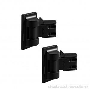 Boerboel Standard Wrap Gate Hinge 73014302 Black(2 pack) - B0142U1VE2