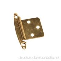 RV Designer H239  Free Swinging Hinge  Brass  2 Per Pack  Cabinet Hardware - B003VAXI0K