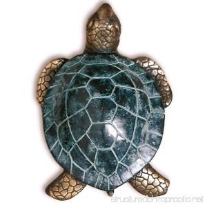 Solid Brass Sea Turtle Door Knocker - B007ISFAM0