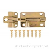 "AjustLock 3"" Barrel Bolt Lock (Brass) - B00J8ECM3C"