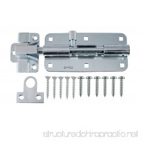 "AjustLock 8"" Zinc Barrel Bolt  Extra Heavy Duty Lock AjustLock - B0149IR6NC"