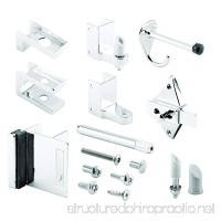 Sentry Supply 656-3111 Door Kit  7/8 In. Door & 1-1/4 In. Pilaster  Zamak  Chrome  Outswing  Pack of 1 Kit - B01NBWB91A