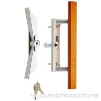Wright Products VK1104 KEYED SURFACE MOUNT PATIO LATCH ALUMINUM - B000CSK2GC