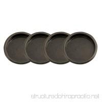 """Design House 182071 Closet Finger Pull 2-1/8""""  4-Pack  Oil Rubbed Bronze - B074KS4KNY"""