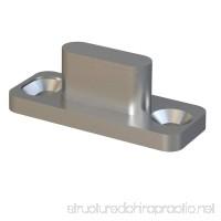 Stainless Steel Sliding Barn Door Hardware Floor Mount Floor Guide - B074DRRXL7