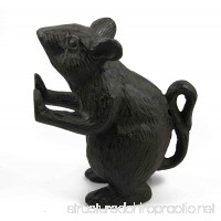 Distressed Cast Iron Mouse Rodent Door Stopper Farmhouse Shabby Chic Rustic Quality Decorative Vintage Door Stop - Stop Your Interior Or Exterior Doors with Great Style by Ashes to Beauty (Brown) - B076HJNT73