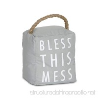 Pavilion Gift Company 72194 Bless This Mess Door Stopper 5 x 6 - B00YQM41JO
