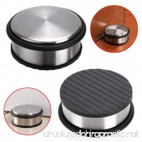 Sumnacon Heavy Duty Floor Door Stopper No Drill Durability Stainless Steel Door Stops With Anti-skid Rubber - Contemporary Decorative Safety Door Wedge For Home Office Commercial Industrial (Type 1) - B07BGYK245