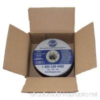 25 Pk Box Set Type 1 Cutting Ferrous Iron Metal Blade Cut Off Saw Disc for Industrial Shop DIY Hobby - B07DNHZ76F