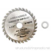 4-3/8 Inch Diameter Carbide Tip Saw Blade With 30 Teeth - B01LWMDHI4
