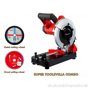 KPT Cutting Machine Combo With 7 Blades For Wood And Metal Cutting From Toolsvilla - B014T376HI