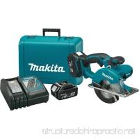 Makita XSC01M LXT Lithium Ion Cordless Metal Cutting Saw Kit  5-3/8-Inch - B00M46NCBW